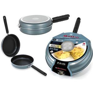POÊLE - SAUTEUSE Poêle pour omelettes Venus Quttin Aluminium forgé
