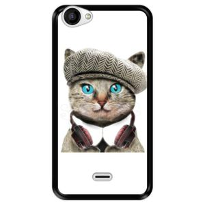 Coque wiko rainbow chat