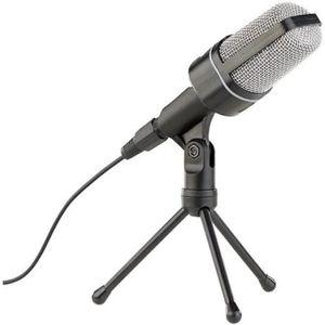 HAUT-PARLEUR - MICRO Microphone studio professionnel à condensateur ave