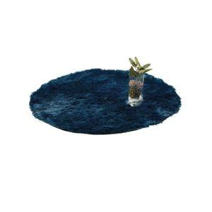 TAPIS benuta Tapis à poils longs Whisper Bleu ภ160 cm