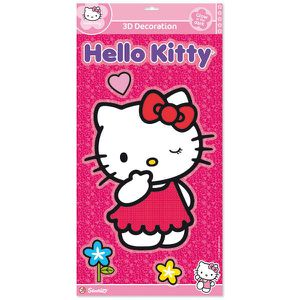 STICKERS HELLO KITTY Stickers en Relief - Cijep