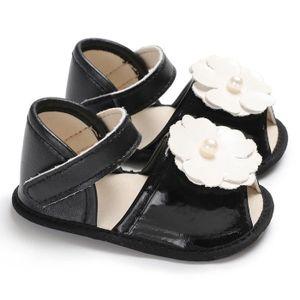 Bébé Enfants Filles Garçons Crib Chaussures Été Quotidien Décontracté Fleur Semelle Souple Prewalker