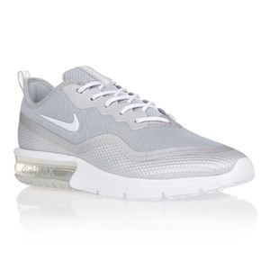 BASKET NIKE Baskets AIR MAX SEQUENT 4,5 - Homme - Gris