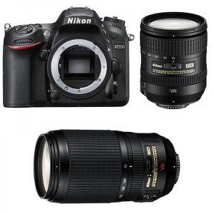 APPAREIL PHOTO RÉFLEX NIKON D7200 + Objectif AF-S DX 16-85mm f/3.5-5.6G