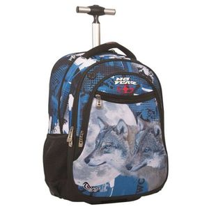 CARTABLE Sac à roulettes No Fear Moonlight Wolves 48 CM - c
