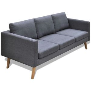 CANAPÉ - SOFA - DIVAN Canapé à 3 places Tissu Sofa Canapé Confortable  C