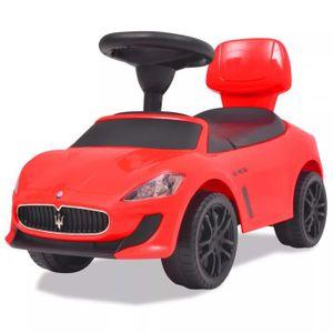 VOITURE ELECTRIQUE ENFANT Voiture à chevaucher Maserati 353 Rouge 2 ans et p