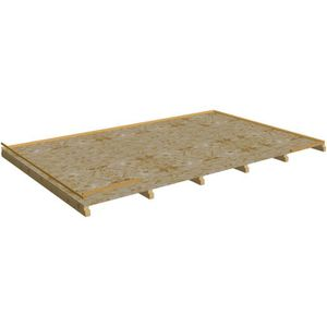 REVETEMENT EN PLANCHE Plancher pour abri de jardin BA 4040,02 N