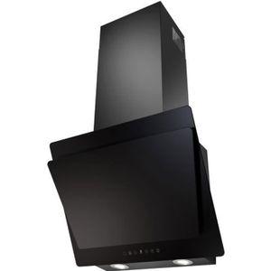 HOTTE SOGELUX HCLE60NF Hotte Inclinée 60 cm Verre Noir