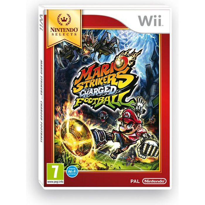 JEUX WII Mario Strikers Charged Football Selects Jeu Wii