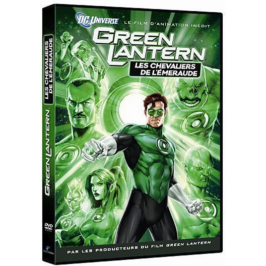 DVD Green Lantern : les chevaliers de l'emeraude
