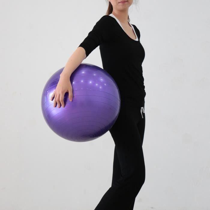 55 cm Yoga Ballon Fitness Entraînement Ballon de Gym