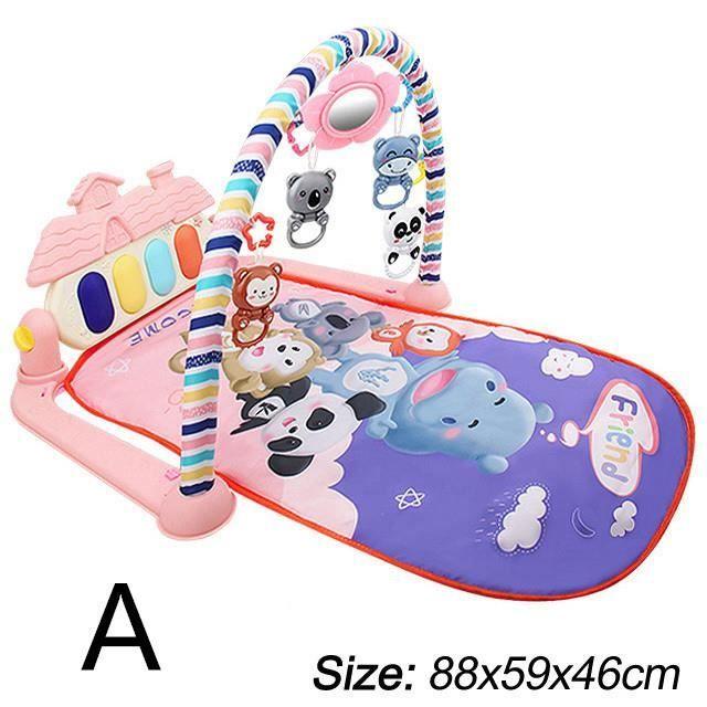 Bébé Piano Clavier Game Pad Musique Éducatif Jouet Éducatif Support Crawling Mat Enfants Cadeau,Accessoires bébé-A