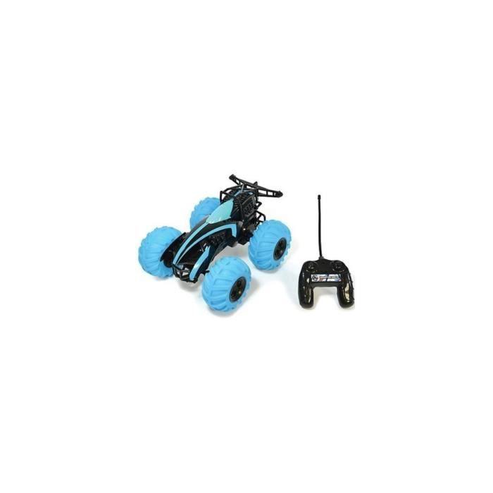 Voiture JLX Monster Drive Bleu - Vehicule radiocommande - Tomy RC