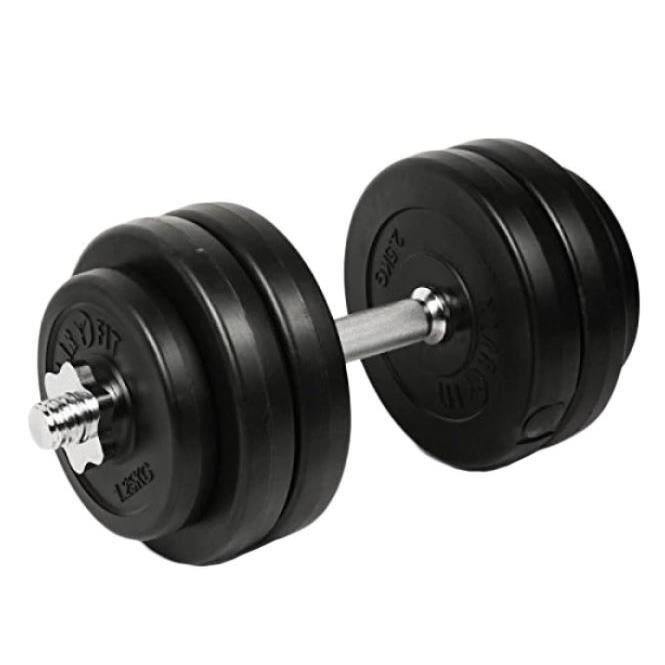 Haltère ajustable FitTronic 10 kg