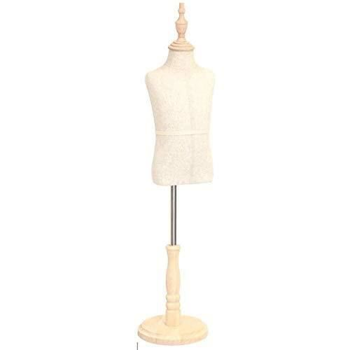 Buste De Couture Mannequin Enfant Tailleurs Tailleurs Buste Mannequin Couturiers l'écran Hauteur Ajustable Convient for 27 An 115