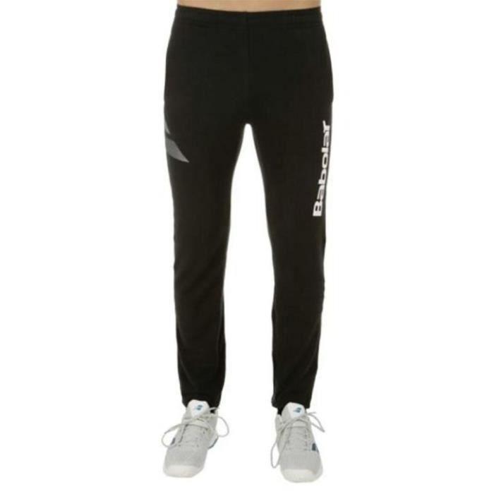 BABOLAT - BABOLAT PANT SWEAT BLOGO BOY* - 3BS16133105 - Pantalons TENNIS NOIR - (12-14 ANS)