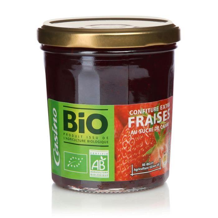 DELVERT ETABLISSEMENTS Confiture fraise - 360 g