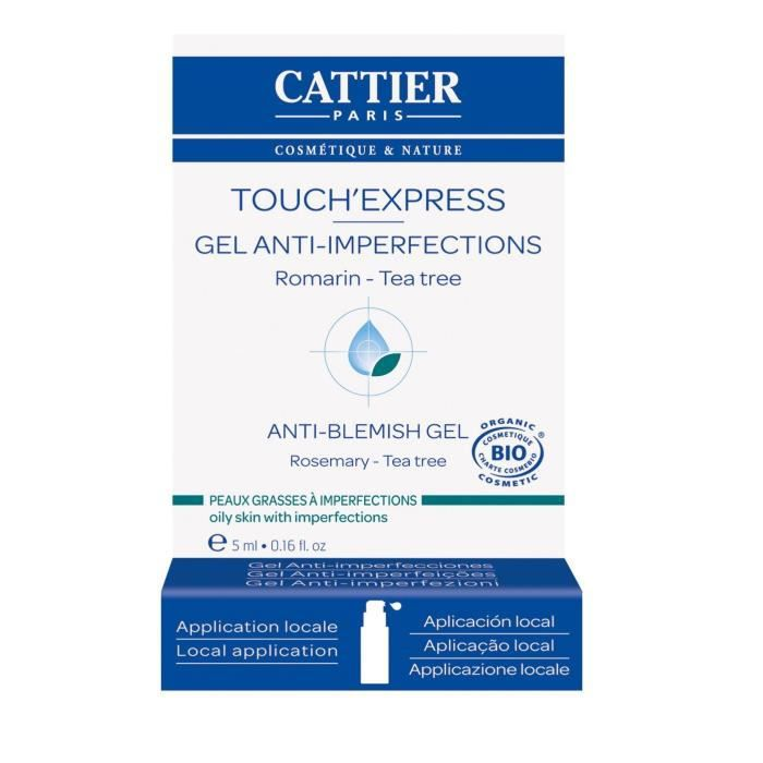 CATTIER Touch'Express Bio peaux grasses à imperfections 5 ml