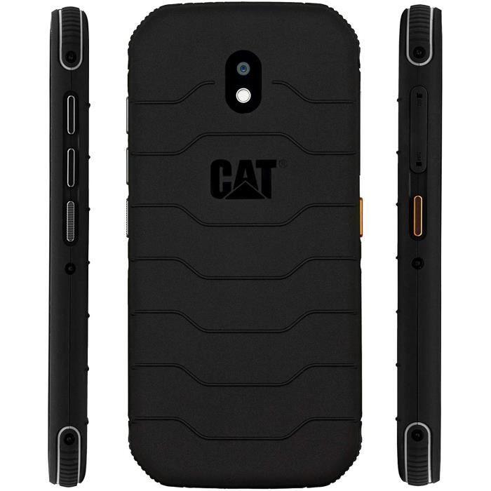 Téléphone S42 CAT, couleur noire, mémoire interne de 32 Go (extensible à 128 Go), 3 Go de RAM, écran HD+ de 5,5-, écran HD+,