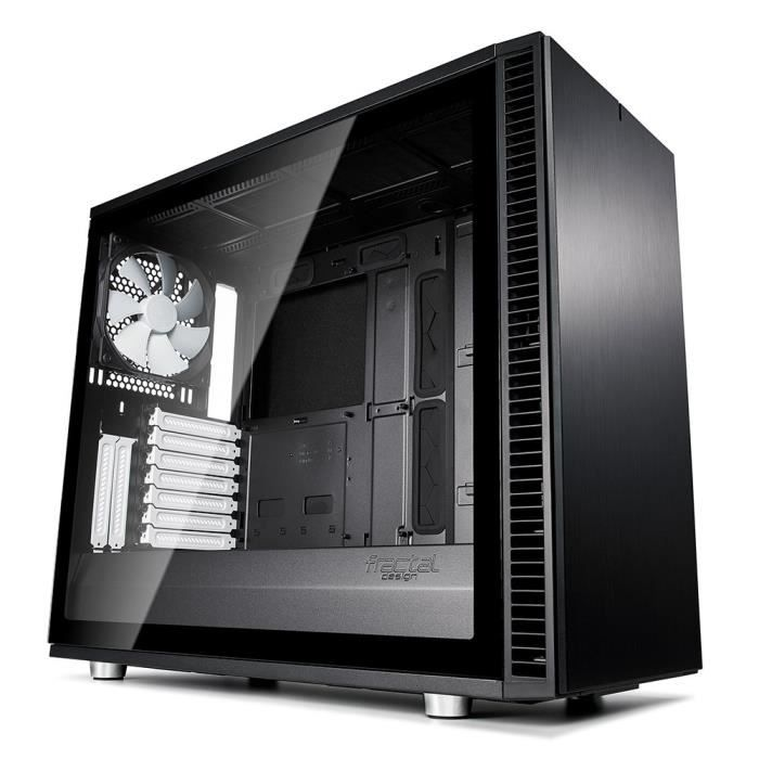Fractal Design Define S2, Black, Glass, Light