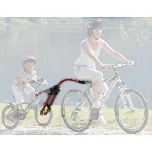 IWH Peruzzo Trail Angel 000304 Barre de remorquage pour vélo d`enfant Rouge - C064304/R