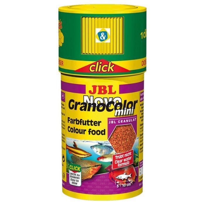 JBL Nourriture en granulés Novogranocolor - Pour poisson d'aquarium - 100ml