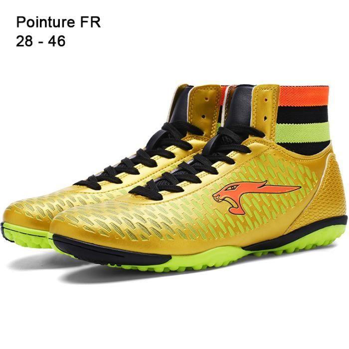 Pointure 28 - 46 Chaussures Football Stabilisé Turf Homme Femme