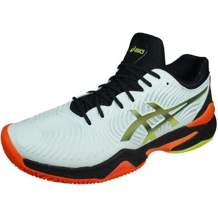 Asics Court FF 2 Clay Chaussures de Tennis pour Hommes Blanc 6