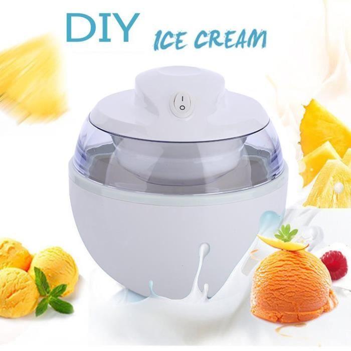 Ménage de machine de crème glacée 220V, mini machine faite maison de bâton de crème glacée de bricolage