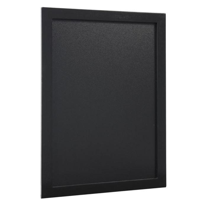 Ardoise murale rectangulaire , 30 x 40 cm, black