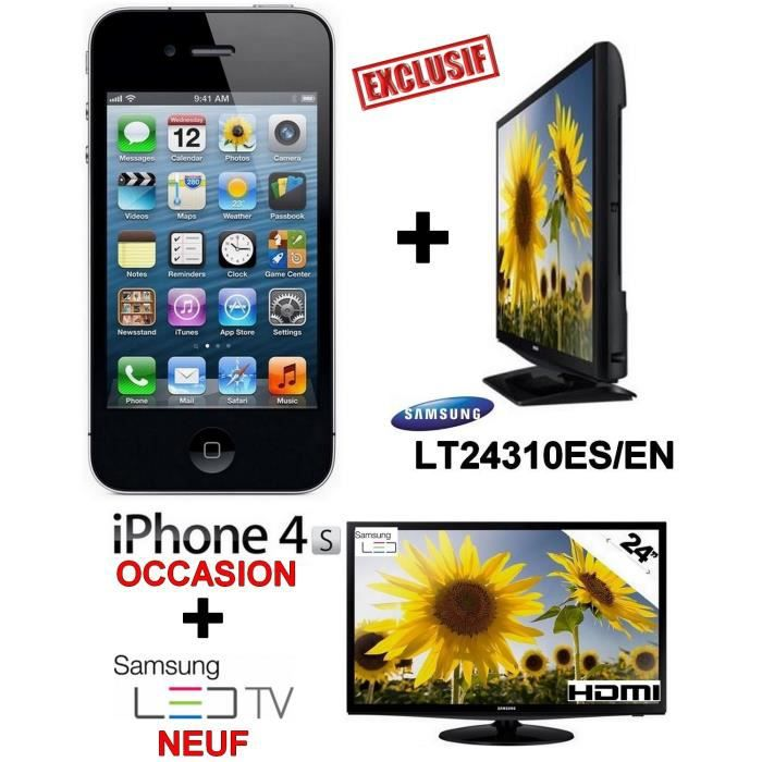 smartphone apple 4s debloque tv led samsung neuf 24. Black Bedroom Furniture Sets. Home Design Ideas