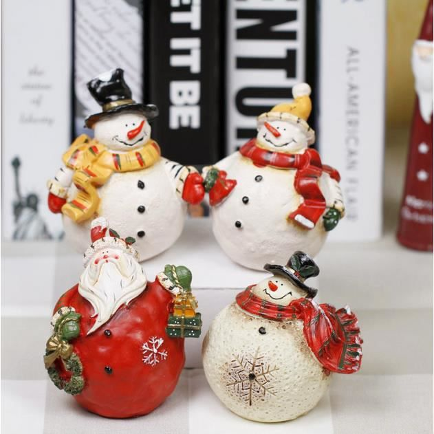 D corations de no l snowman d coration de no l cadeaux de for Achat decoration de noel