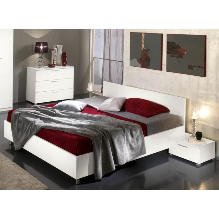 el gant lit design box lievine laqu blanc laqu blanc laqu avec que pour le lit en. Black Bedroom Furniture Sets. Home Design Ideas