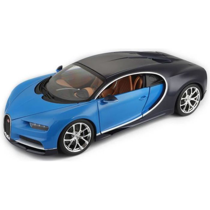 burago voiture bugatti chiron bleue echelle 1 18 achat vente voiture camion cdiscount. Black Bedroom Furniture Sets. Home Design Ideas
