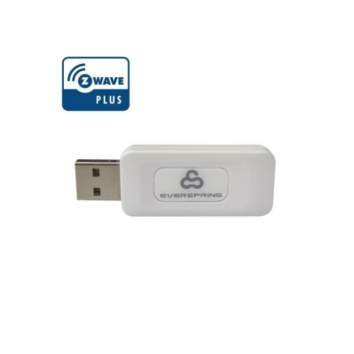 TechniSat 0000//9536/  Wave Z Stick 1/ Smart Home et de Gestion de t/él/éviseur Smart Blanc
