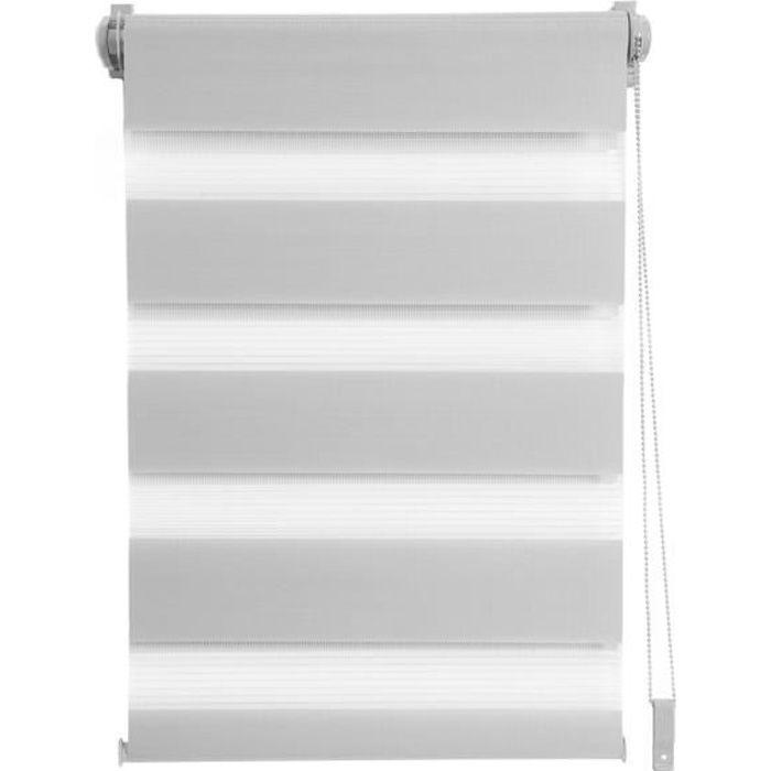 Finley Store Occultant sans Per/çage Store Enrouleur Opaque 50 x 170 cm Isolant Thermique pour Fen/êtres et Portes Bleu Fonc/é