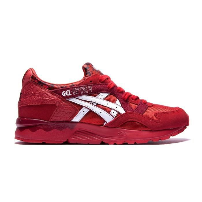 asics gel lyte 5 rouge et blanche. Black Bedroom Furniture Sets. Home Design Ideas