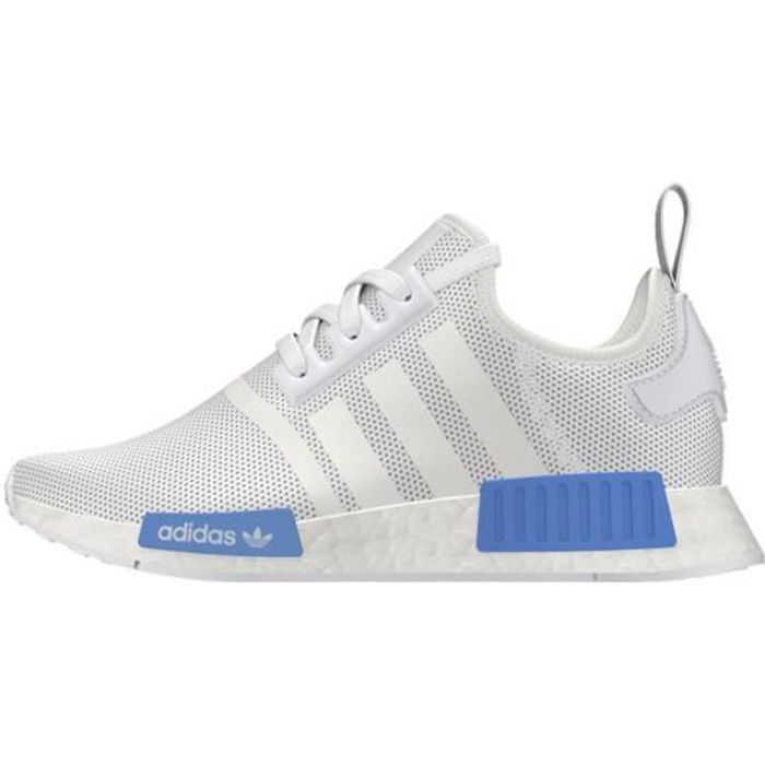 dc5a57e6f Baskets Junior Adidas Originals NMD R1 J - Ref. AQ1785 Blanc Blanc ...