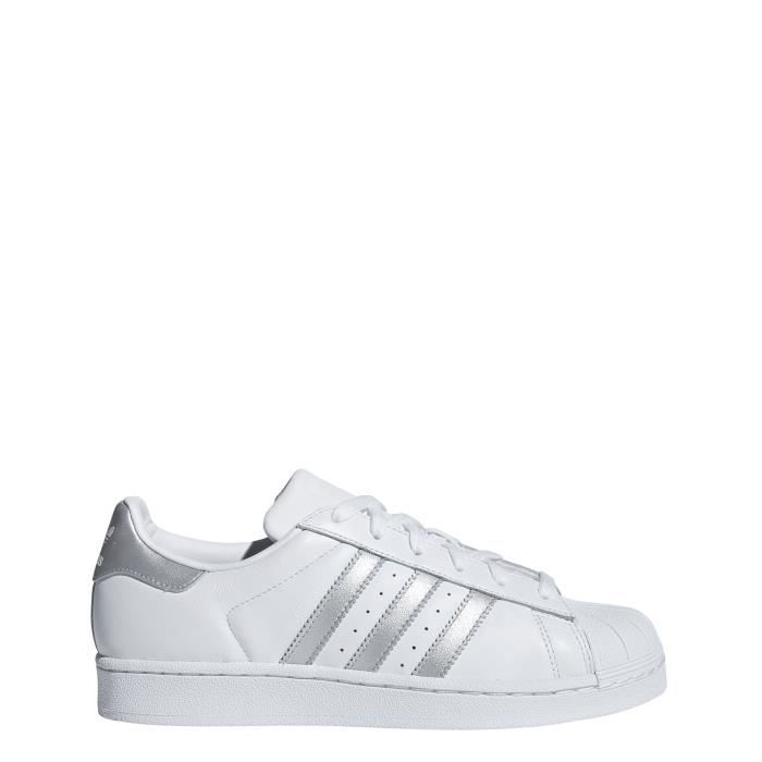 ADIDAS SUPERSTAR W - D97998 - AGE - ADULTE, COULEUR - BLANC ...