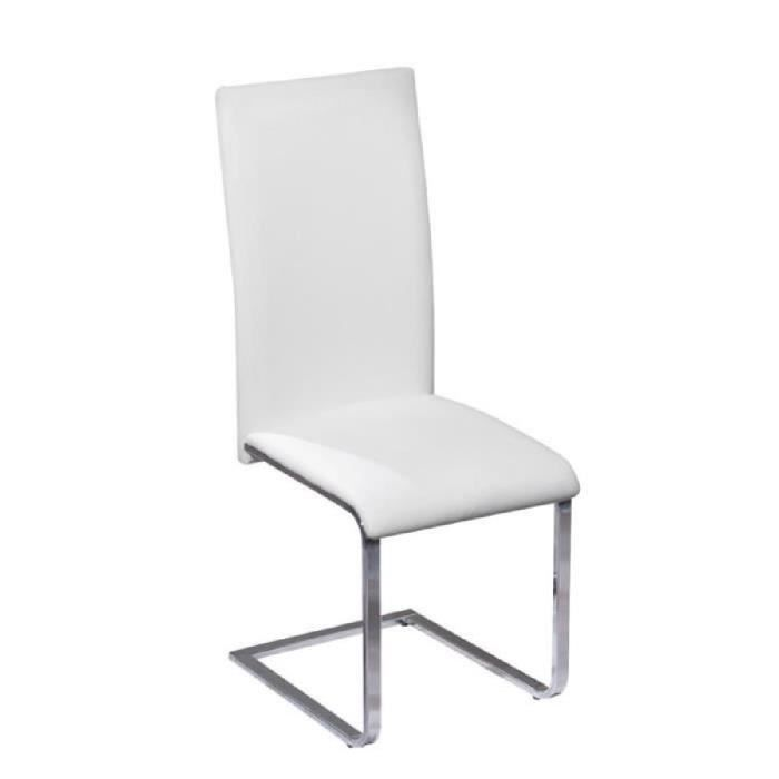 Paris prix chaise design steam blanc achat vente chaise de - Chaise a prix discount ...