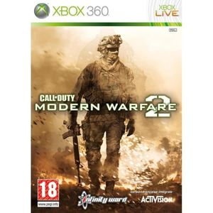 JEUX XBOX 360 CALL OF DUTY MODERN WARFARE 2 / JEU CONSOLE XBOX36