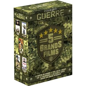 DVD FILM DVD Coffret guerre - 5 grands films