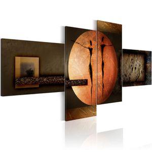 TABLEAU - TOILE Tableau - Couleurs de la Terre - Size: 100x45