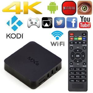 BOX MULTIMEDIA HD Media Player Android TV Box MXQ 4.4 Entièrement