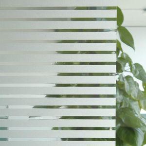 FILM POUR VITRAGE Film adhesif vitrage RAYURES largeur 90cm vendu au