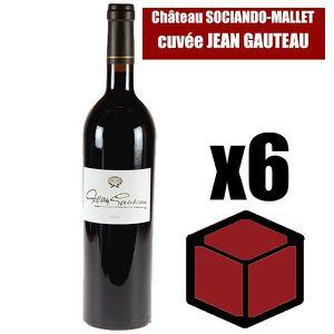 VIN ROUGE X6 Château Sociando-Mallet