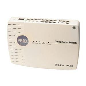 Téléphone fixe Central standard téléphonique - 3 lignes - 12 post