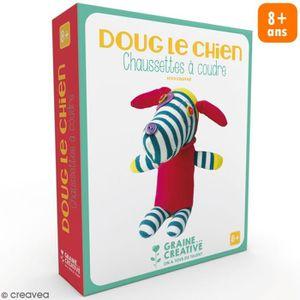 KIT DE COUTURE Kit couture enfant - Peluche chaussette Chien