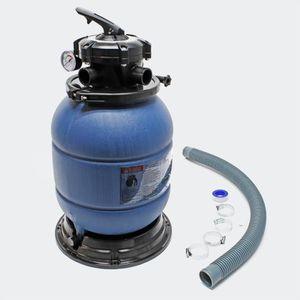 POMPE - FILTRATION  Filtre à sable et particules Cuve filtrante Pool P